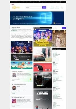 contoh desain iklan baris custom adspromotion