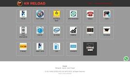 desain web ppob krreload.com