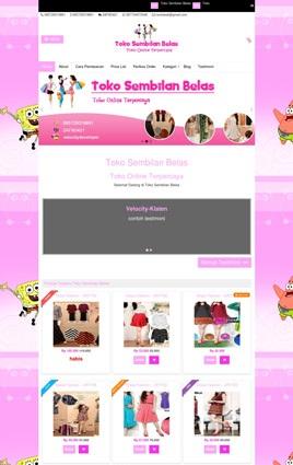 contoh desain paket toko online biasa toko19.velocitydeveloper