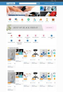 contoh desain marketplace portalalkes
