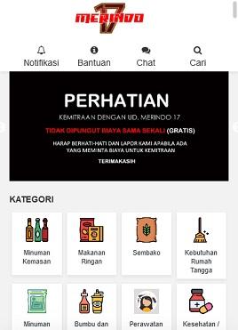 contoh desain paket apk custom Mitra Merindo
