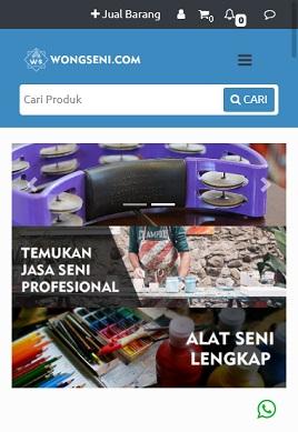 contoh desain paket apk custom Toko Seni